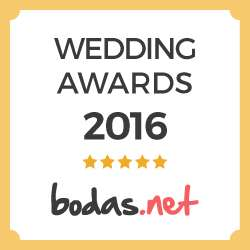 Paloma Ramos, ganador Wedding Awards 2016 bodas.net